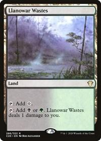 Llanowar Wastes, Magic: The Gathering, Commander 2020