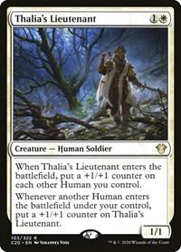 Thalia's Lieutenant, Magic: The Gathering, Commander 2020