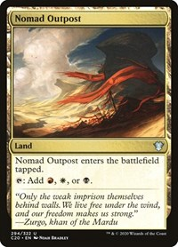 Nomad Outpost, Magic: The Gathering, Commander 2020