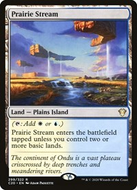 Prairie Stream, Magic, Commander 2020
