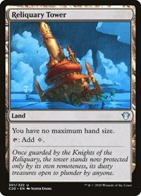 Reliquary Tower, Magic: The Gathering, Commander 2020