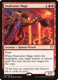 Dualcaster Mage, Magic: The Gathering, Commander 2020