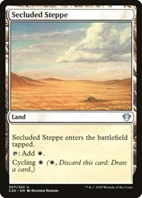 Secluded Steppe, Magic, Commander 2020