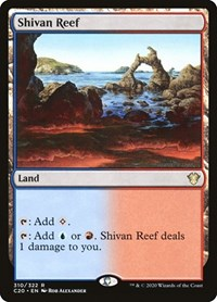 Shivan Reef, Magic, Commander 2020