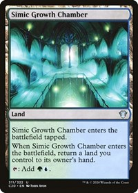 Simic Growth Chamber, Magic: The Gathering, Commander 2020