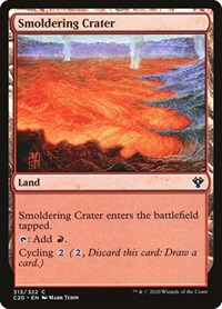 Smoldering Crater, Magic: The Gathering, Commander 2020