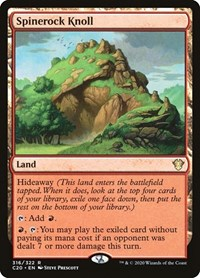 Spinerock Knoll, Magic: The Gathering, Commander 2020