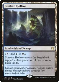 Sunken Hollow, Magic: The Gathering, Commander 2020