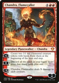 Chandra, Flamecaller, Magic, Commander 2020