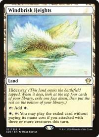 Windbrisk Heights, Magic, Commander 2020