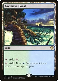 Yavimaya Coast, Magic, Commander 2020