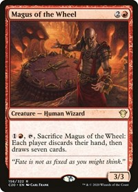 Magus of the Wheel, Magic: The Gathering, Commander 2020
