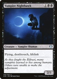 Vampire Nighthawk, Magic, Commander 2020