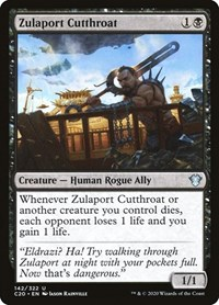 Zulaport Cutthroat, Magic, Commander 2020