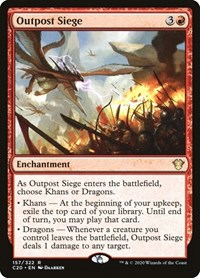 Outpost Siege, Magic: The Gathering, Commander 2020