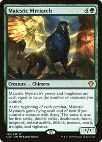 Majestic Myriarch, Magic: The Gathering, Commander 2020
