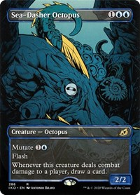 Sea-Dasher Octopus (Showcase), Magic: The Gathering, Ikoria: Lair of Behemoths
