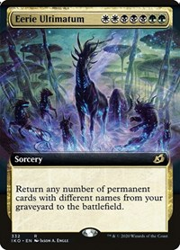 Eerie Ultimatum (Extended Art) (Foil)