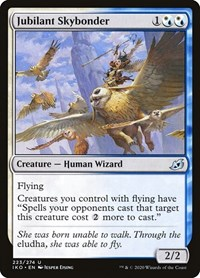 Jubilant Skybonder, Magic: The Gathering, Ikoria: Lair of Behemoths