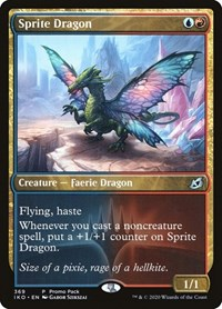 Sprite Dragon, Magic: The Gathering, Promo Pack: Ikoria