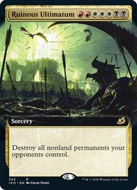 Ruinous Ultimatum (Extended Art) (Foil)