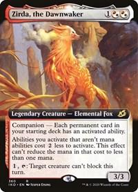 Zirda, the Dawnwaker (Extended Art), Magic: The Gathering, Ikoria: Lair of Behemoths