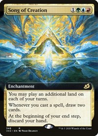 Song of Creation (Extended Art), Magic: The Gathering, Ikoria: Lair of Behemoths