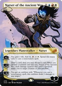 Narset of the Ancient Way (Borderless) (Foil)