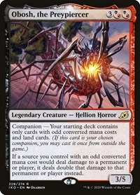 Obosh, the Preypiercer, Magic: The Gathering, Ikoria: Lair of Behemoths