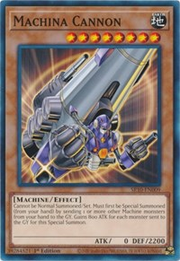 Machina Cannon, YuGiOh, Structure Deck: Mechanized Madness