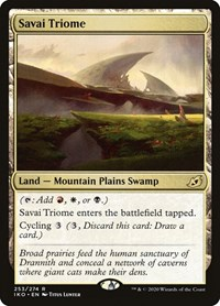 Savai Triome, Magic: The Gathering, Ikoria: Lair of Behemoths
