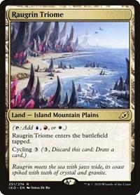 Raugrin Triome, Magic: The Gathering, Ikoria: Lair of Behemoths