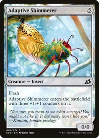 Adaptive Shimmerer, Magic: The Gathering, Ikoria: Lair of Behemoths