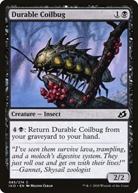 Durable Coilbug, Magic, Ikoria: Lair of Behemoths