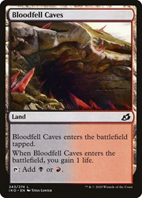 Bloodfell Caves, Magic: The Gathering, Ikoria: Lair of Behemoths
