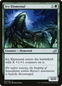 Ivy Elemental, Magic: The Gathering, Ikoria: Lair of Behemoths