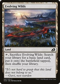 Evolving Wilds, Magic, Ikoria: Lair of Behemoths