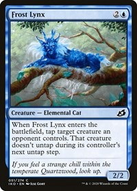 Frost Lynx, Magic: The Gathering, Ikoria: Lair of Behemoths