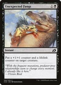 Unexpected Fangs, Magic, Ikoria: Lair of Behemoths