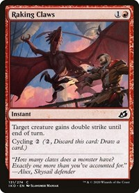 Raking Claws, Magic: The Gathering, Ikoria: Lair of Behemoths