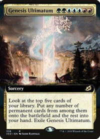 Genesis Ultimatum (Extended Art), Magic: The Gathering, Ikoria: Lair of Behemoths