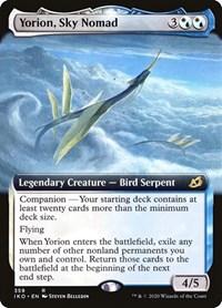 Yorion, Sky Nomad (Extended Art), Magic: The Gathering, Ikoria: Lair of Behemoths