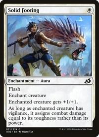 Solid Footing, Magic: The Gathering, Ikoria: Lair of Behemoths