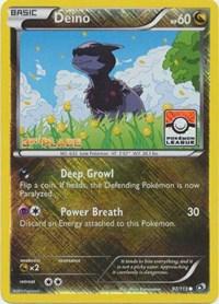 Deino - 97/113 (League Promo) [3rd Place], Pokemon, League & Championship Cards