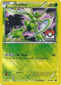 Scyther - 4/108 (League Promo) [1st Place], Pokemon, League & Championship Cards