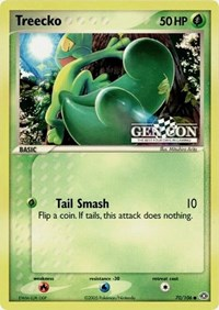 Treecko - 70/106 (Gen Con The Best Four Days in Gaming Promo), Pokemon, Miscellaneous Cards & Products