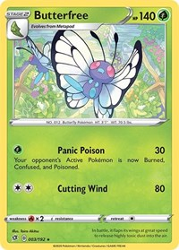 Butterfree, Pokemon, SWSH02: Rebel Clash