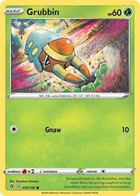 Grubbin, Pokemon, SWSH02: Rebel Clash