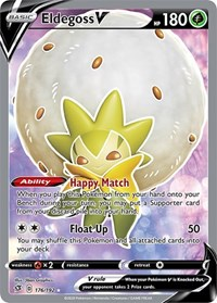 SWSH Rebel Clash 019//192 Eldegoss V Pokemon Half Art