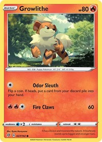 Growlithe, Pokemon, SWSH02: Rebel Clash